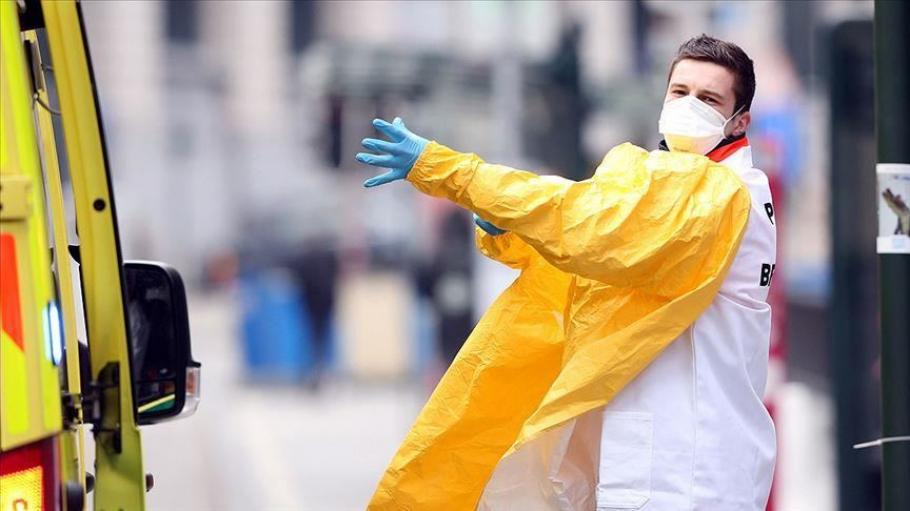 Здравните власти в Белгия съобщиха днес, че епидемията
