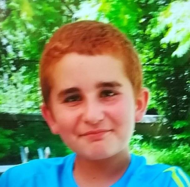 13-годишният Велизар Георгиев Стоянов, който изчезна вчера от