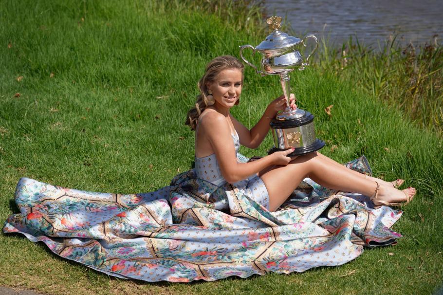 Младата София Кенин, която грабна титлата от Откритото