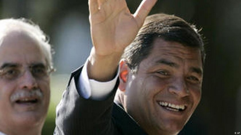 Бившият президент на Еквадор Рафаел Кориа беше осъден