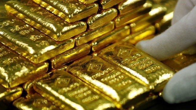 Цената на златото тази сутрин се понижи, след