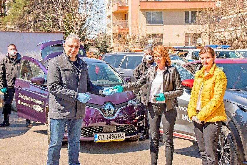 Renault Nissan България предостави безвъзмездно повече от 20