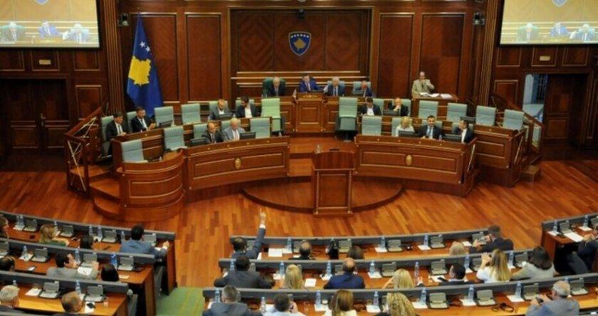 Правителството на Косово падна след вот на недоверие.