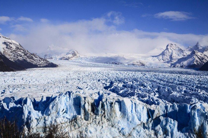 Огромен ледник в северозападната част на Тибетското плато
