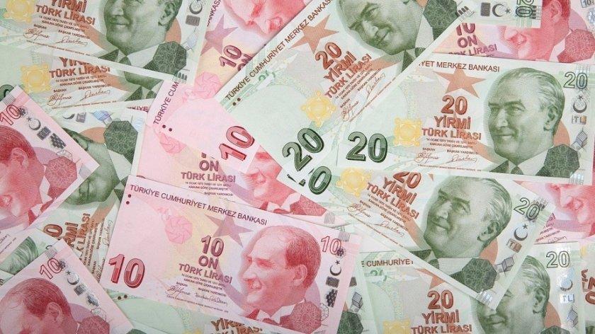 Турската лира падна днес, отслабвайки до най-ниските нива