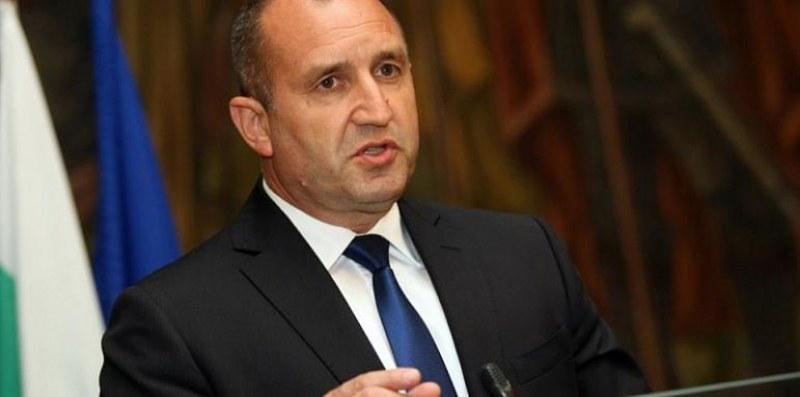 Преди минути държавният глава Румен Радев направи от