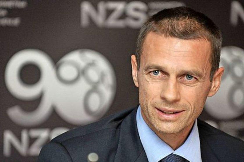 УЕФА разглежда три варианта за подновяване на мачовете