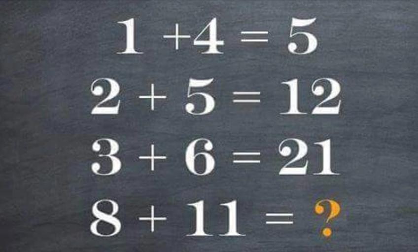На пръв поглед това 4-редово уравнение изглежда доста просто. Но