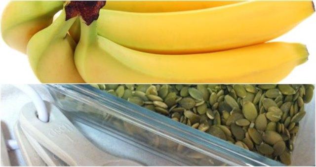 Бананите, ядките, семената, медът и яйцата са сред храните с