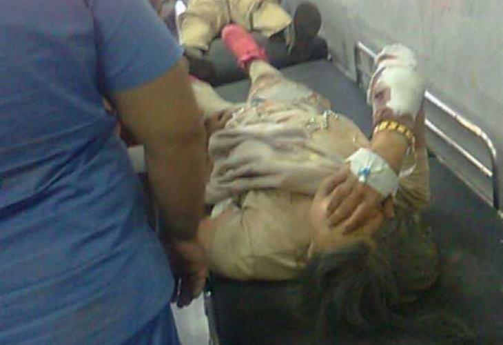 Всички са отведени за преглед в болницата в египетския град