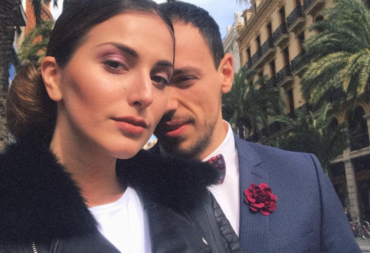 Двамата със съпругата му Александра Богданска отишли във Валенсия за