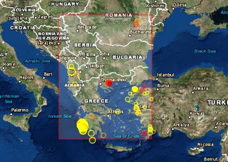 Припомняме, че на 26 октомври земетресение с магнитуд 6,8 по