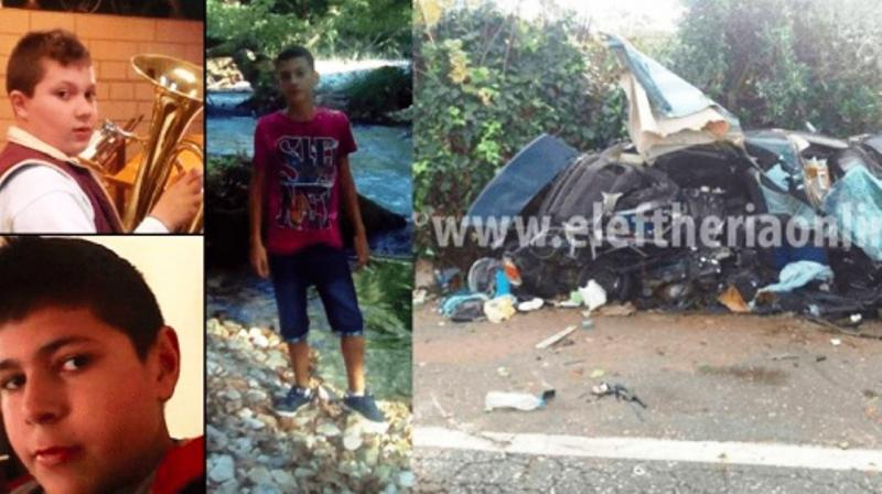 15-годишният Енрико Бузани, роден в Албания, тайно е взел колата