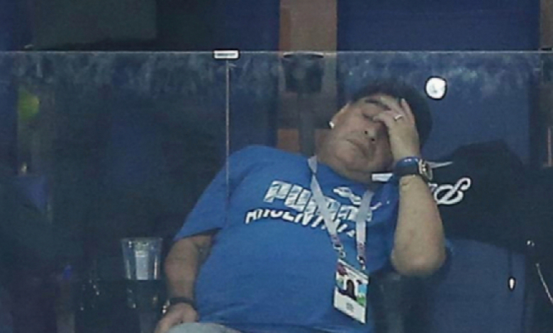 Все пак адвокатът на Марадона - Матиас Морла реагирал мигновено