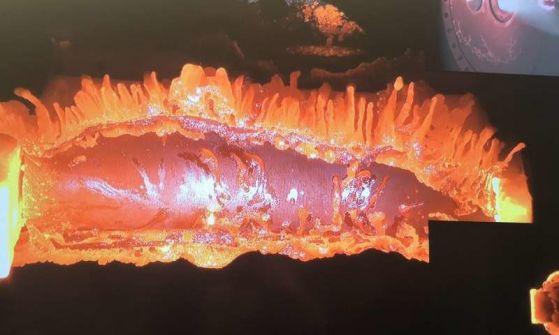 Целта на експеримента е да се разбере как спътниците изгарят
