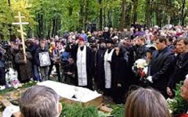 Според православните канони е решено, мъртвите да се погребат на