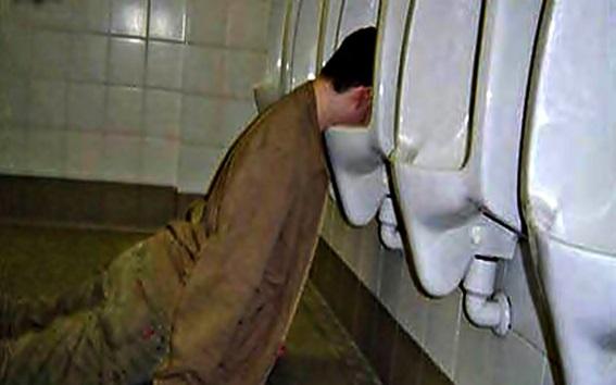 Ако човек е тъжен, той се налива и се напива.