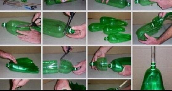 Ръцете ви могат да направят тази малка стилна ваза! Свещник