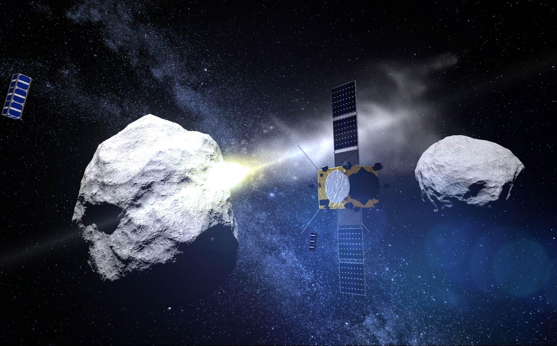 Най-близо до Земята астероидът е бил в 02:05 през нощта