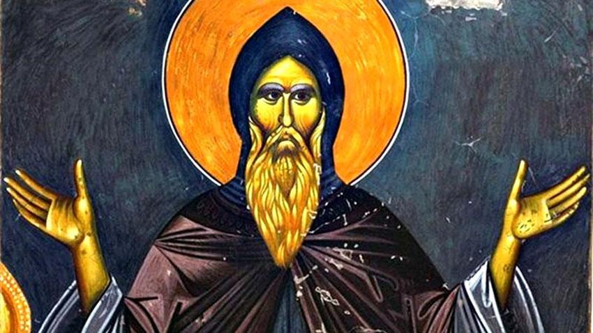 Свети Симеон е син на Клеопа и брат на Свети