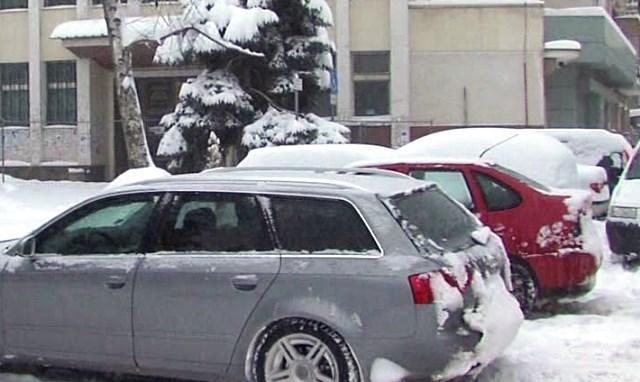 Снимка: Внимание! Инспектори - Менте Събират Глоби За Неправилно Паркиране В София!