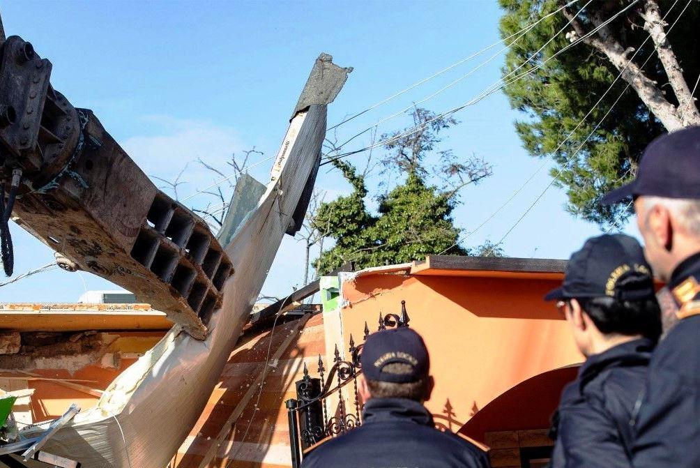 Построените без разрешително вили се намират в квартал Куадраро, в