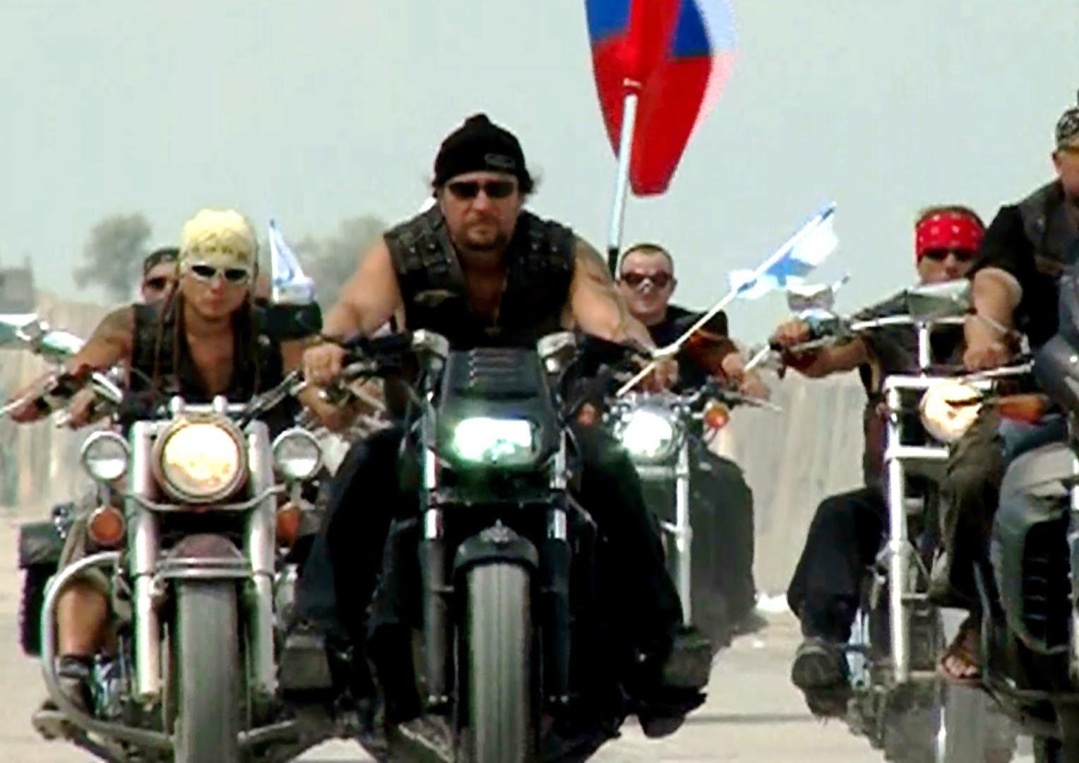 """""""Нощни вълци"""" е руски рокерски клуб, смятан за близък до"""