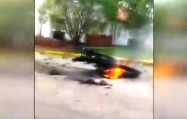 Снимка: Кървав Терористичен Атентат В Колумбия! 21 Жертви, Десетки Ранени! Видео От Мястото!