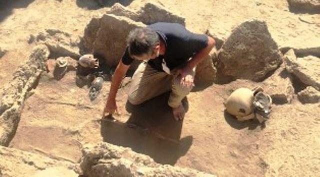 Снимка: Историческо Археологическо Откритие До България! Изровиха Същинско Имане, Погребение На Знатен Големец И Жена Му!