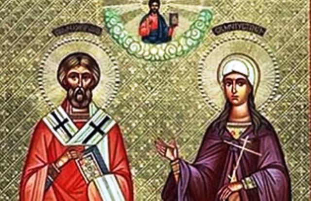 Но Бог уталожил тъгата му: доръцете на младия Хрисант стигнали