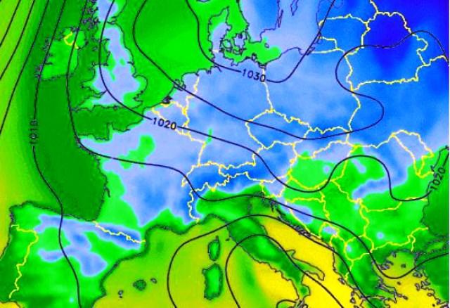 За неделя в руската столица прогнозата за най-висока дневна температура