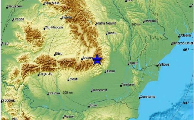 Няма данни земетресението да е усетено у нас, споредНационалния институт