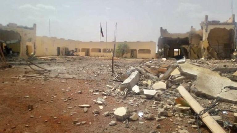 На територията на двете села са открити тела на загинали