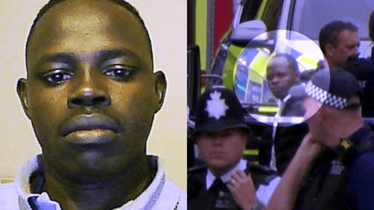 Заподозряниятостава в ареста в Южен Лондон. Той отказва да сътрудничи