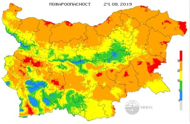 Индексът обхваща територии от областите София, София - град, Враца,
