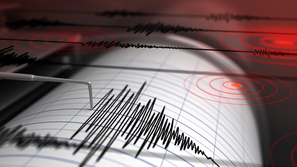 Земетресение с магнитуд 3,4 по скалата на Рихтер