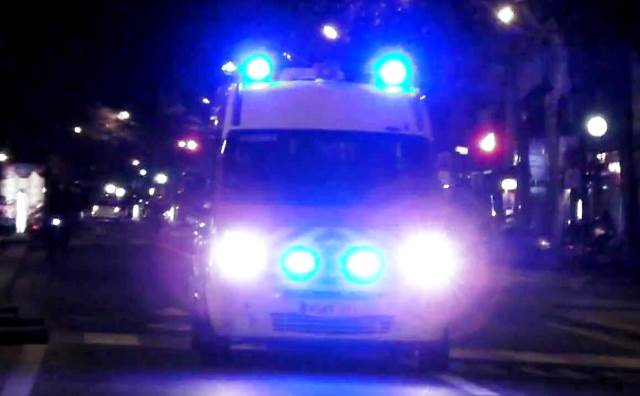 Сигнал за инцидента е регистриран в 19.40 часа. Товарен автомобил