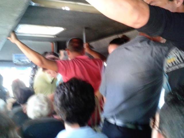 Мъжете се возели в автобус по линия номер 116 като