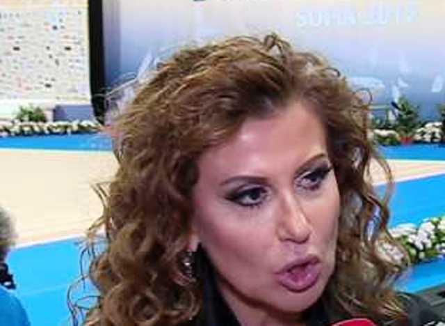 Президентът на Българската федерация по художествена гимнастика Илиана Раева не