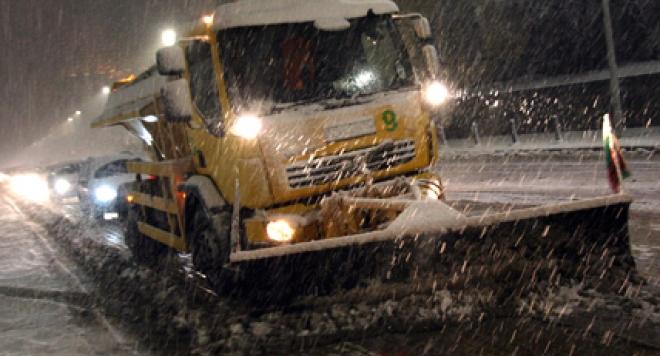 Най-много сняг се очаква в областите Бургас, Ямбол, Сливен, Стара