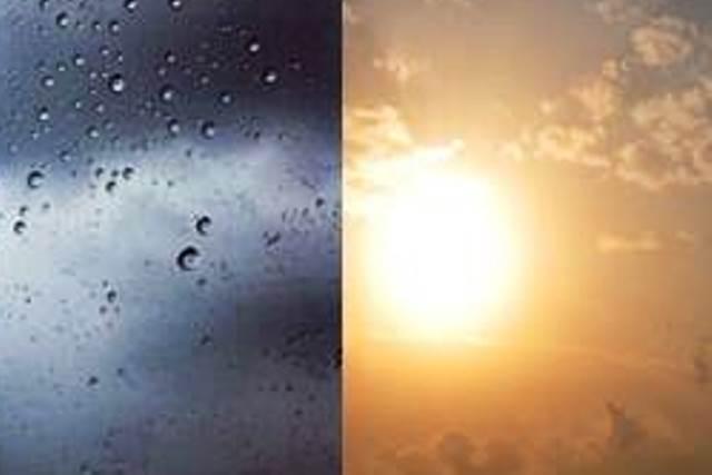 През следващите дни се очакват захлаждане и валежи от дъжд.
