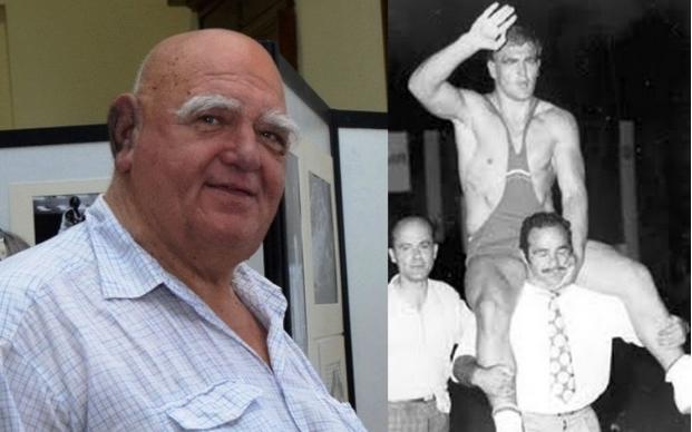Александър Томов Лазаров е български спортист, борец в