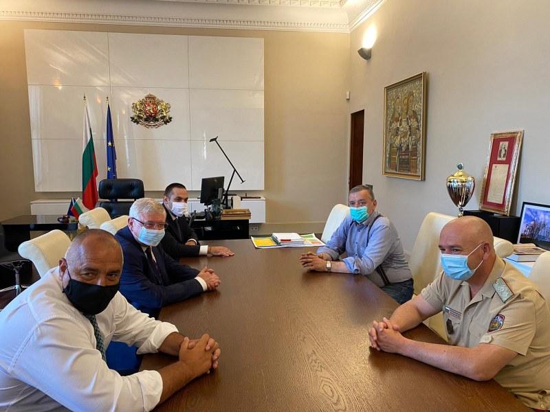 Министър-председателят Бойко Борисов проведе работна среща с Националния