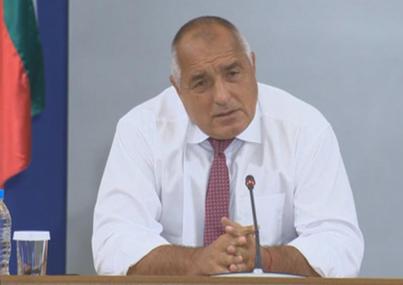 Министър-председателят Бойко Борисов призовава изпълняващият длъжността в момента