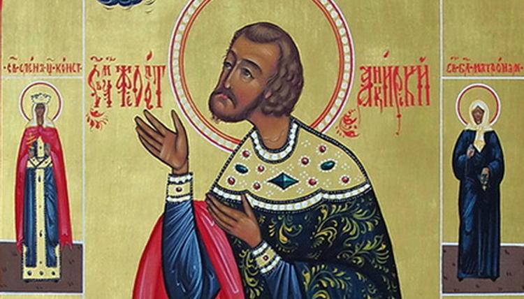 Свети мъченик Теодот в месецословите е поставен два пъти: на