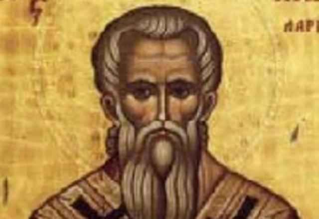 2. Св. преподобни Ахил(ий), епископ на Лариса († 330)- този