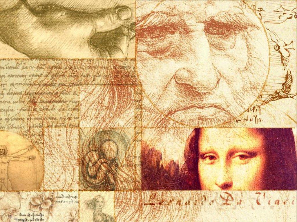 Една от най-запомнящите се творби на Леонардо е неговия автопортрет