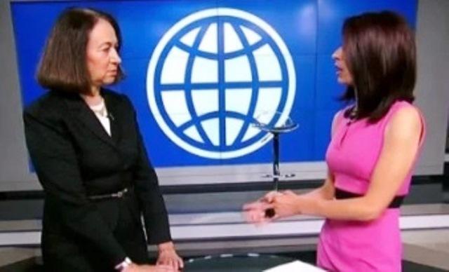 Бившата шефка на Световната банка Карън Хюдс е наистина изумителна
