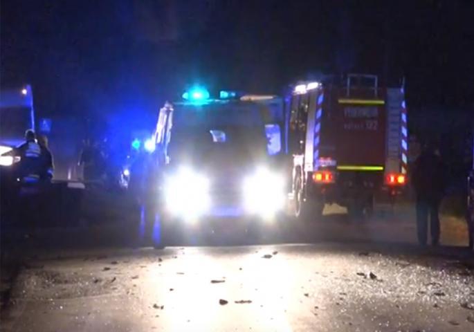 На мястото на инцидента са пристигнали екипи на столичната полиция.