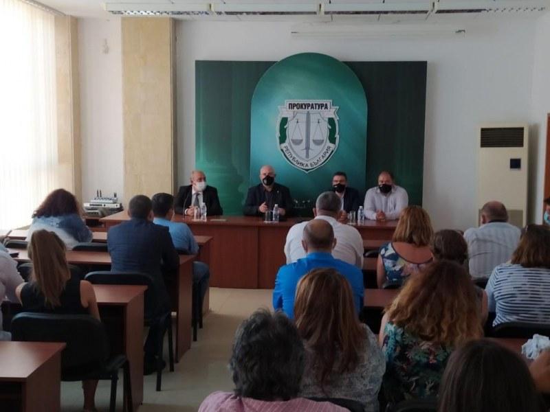 Главният прокурор Иван Гешев поздрави прокурорите от Бургас